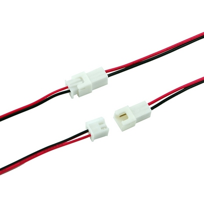 2 54 mm jst xh 2 pin male female connector wire assembly best cable rh wiresconnectors com Balloon Pump Battery Wiring Harness 12V Wiring Harness