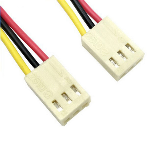 molex 2510 2 54mm pitch 3pin male connector custom auto wiring harness